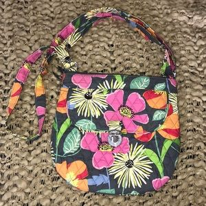 Vera Bradley Jazzy Blooms Cross Body Purse